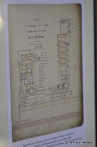 Plan de l'orgue Cavaillé-Coll - Santa María del Coro - 1863