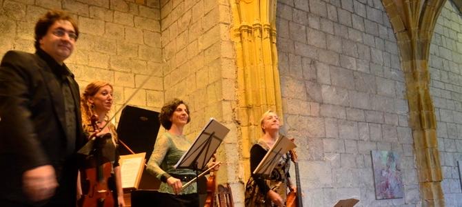 Concert à Deba – Pays Basque – Ensemble Diatessaron- Août 2015