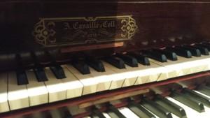 Firma de Aristide Cavaillé-Coll