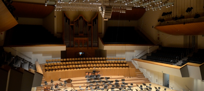 Concert on the Grenzing pipe organ – Auditorium Palau de la Música – Valencia – April 2016