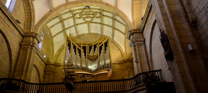 Concert at the Acitores pipe organ (2013) – Orio – Basque country – July 2016