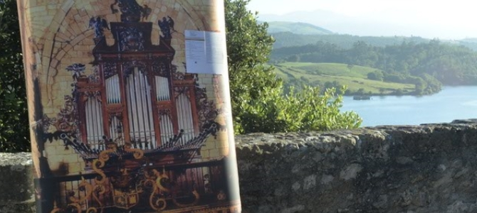 Concert at the Azpiazu pipe organ –  San Vicente de la Barquera – Cantabria – August 2016