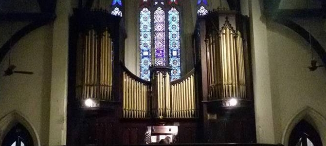 Concert at the Forster & Andrews (1882) pipe organ  – Buenos Aires – Argentina – August 2016