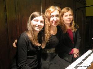 Loreto Armendi y las registrantes - Órgano Amezua - Hernani