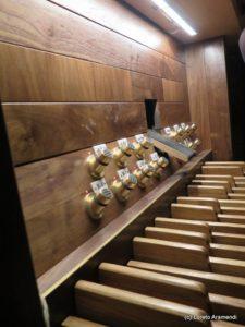 Pedalero del órgano - iglesia de San Ginés