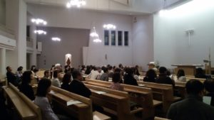 Public du concert de Loreto Aramendi - Sendai