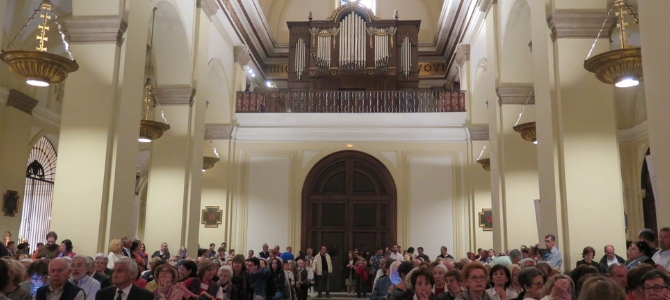 Orgel konzert – San Ginés – Sacred Music Festival – Madrid – April 2017