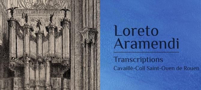 Nouveau CD  enregistré à l'abbatiale de Saint Ouen de Rouen en prévente