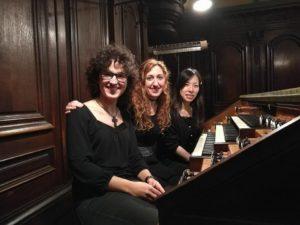 Loreto Aramendi y las registrantes