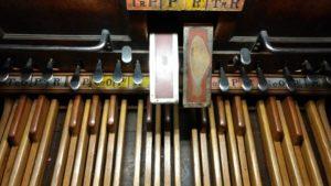 Pedal del órgano Cavaillé-Coll - Saint Francois
