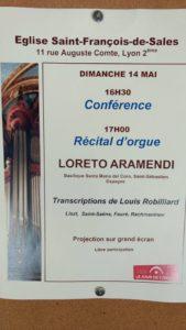 Programme - Concert Loreto Aramendi