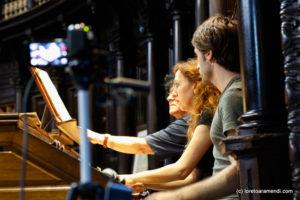 Loreto Aramendi at the Cavaillé-Coll pipe organ - San Sebastian - Spain
