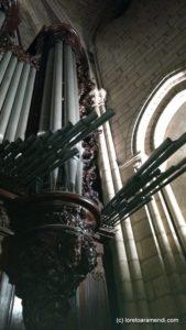 Détail Orgue Cathedrale Notre dame de Paris