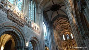 Intérieur - Cathédrale de Bayeux