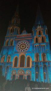 Jeux Lumières - Cathédrale de Chartres