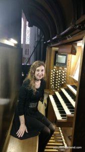 Loreto Aramendi - Console Orgue Chartres