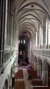 Nef - Cathédrale de Bayeux