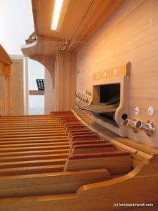 Pédalier - Orgue - cathédrale Artique - Tromso