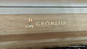 Signature Gronlund - Orgue - cathédrale Artique - Tromso