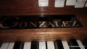 Signature Orgue Gonzalez