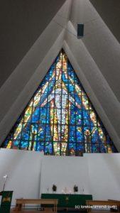 Vitraux - Orgue - cathédrale Artique - Tromso
