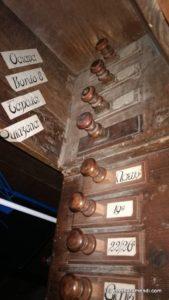Órgano de Cadaqués - registros