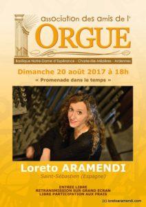Affiche de concert - Charleville-Mezieres