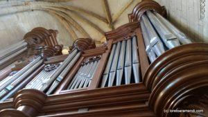 Cathédrale de Charleville - Orgue - Buffet