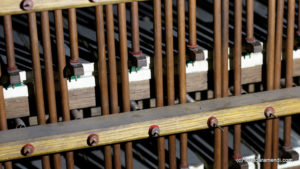 Spanish Aristide Cavaillé-Coll pipe organ - Barker Machine- Basilica Santa Maria - San Sebastian - Basque country - Spain