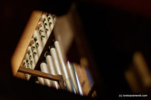 Spanish Aristide Cavaillé-Coll pipe organ - Interior- Basilica Santa Maria - San Sebastian - Basque country - Spain