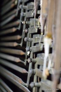 Spanish Aristide Cavaillé-Coll pipe organ - Tracker- Basilica Santa Maria - San Sebastian - Basque country - Spain