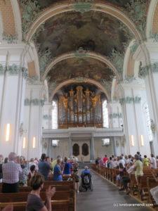 OrgelKonzert - San Gallen - Audience