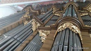 OrgelKonzert - San Gallen - Front orgel