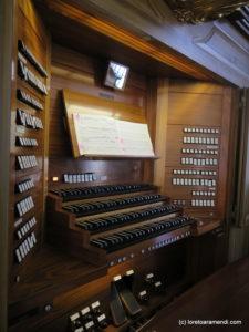 OrgelKonzert - San Gallen - Stops