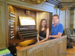 OrgelKonzert - San Gallen - Willibald Guggenmos - Loreto Aramendi