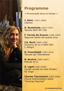 Programme de concert - Charleville-Mezieres