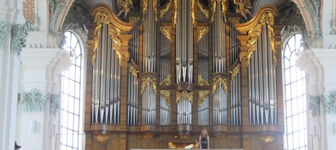 Concert at the Khun (2005) pipe organ in the St. Gallen cathedral, Switzerland– August 2017