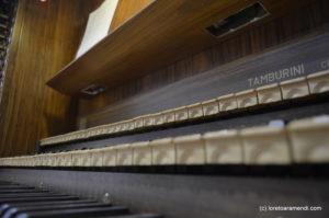 Órgano Tamburini Auditorium Cassa di Risparmio di Firenze Florencia