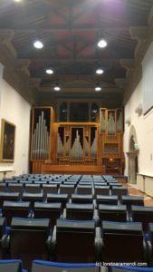Órgano Tamburini - Auditorium Cassa di Risparmio di Firenze Florencia