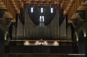 Orgelkonzert - Würzburg Loreto Aramendi. Spanische orgelmusik