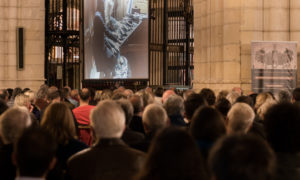 Público del concierto de órgano