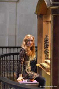 Loreto Aramendi, Concert Organist