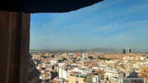 Murcia desde la torre de la catedral de Murcia