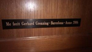 Órgano Grenzing - Elche