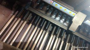 Pedal del órgano Merklin, Murcia