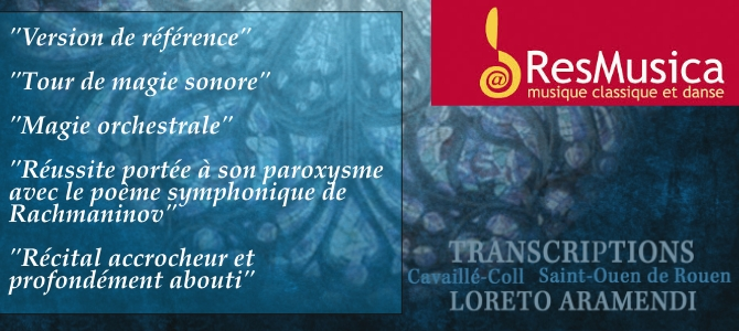 "Review by ResMusica of the double CD ""Transcriptions"""