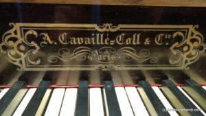 Signature Aristide Cavaillé-Coll