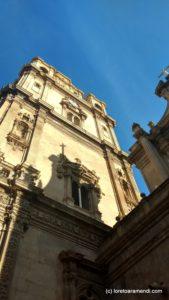 Torre de la catedral de Murcia