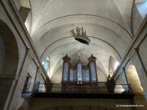 Fachada del órgano