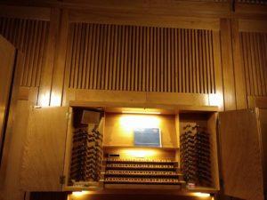 Órgano Grenzing - Auditorio Nacional -Consola
